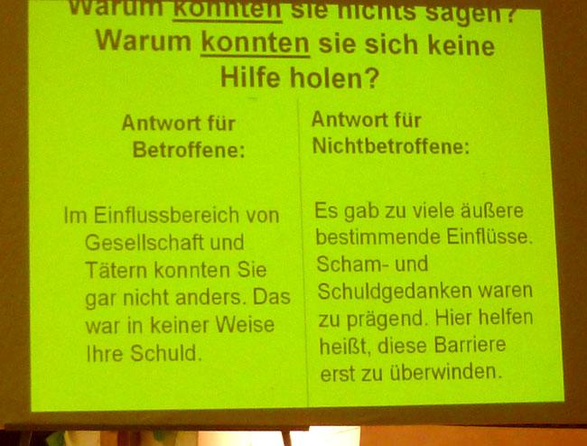 Vortrag Sexuelle Gewalt 11/2011 #2