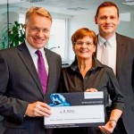 Spendenübergabe First Waters GmbH
