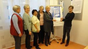Spendenübergabe Zweigverein Haibach