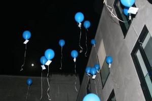 Ballone fliegen