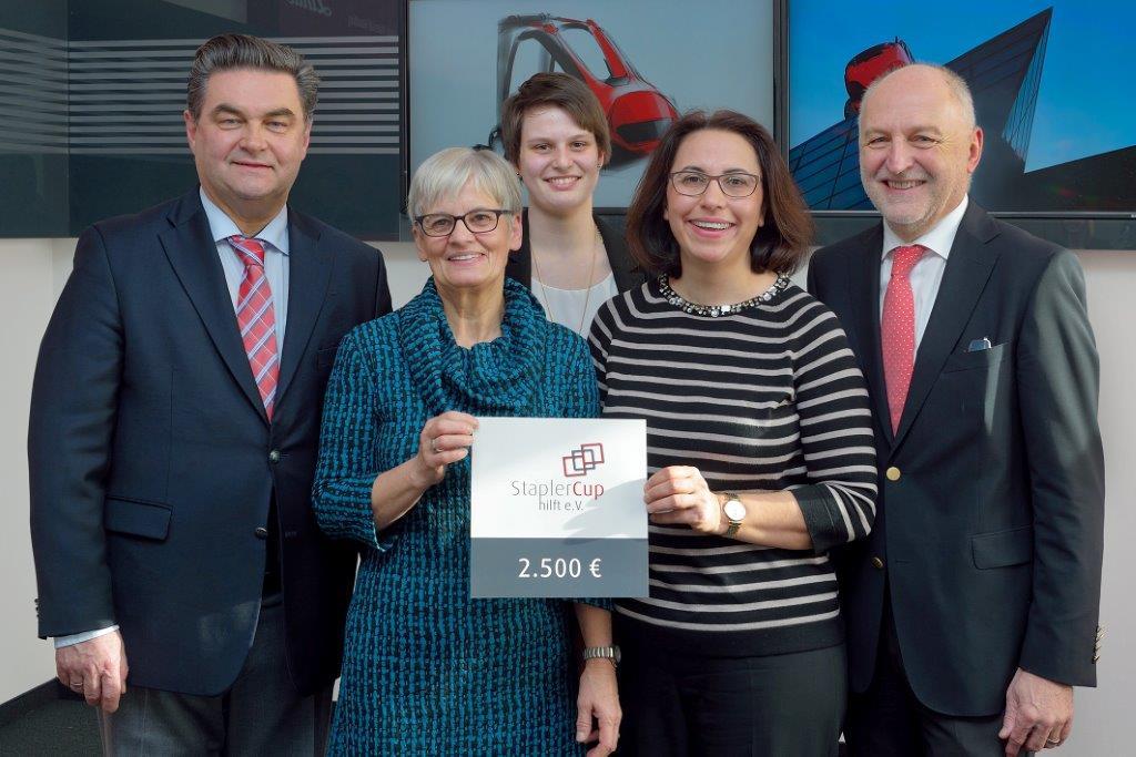 StaplerCup hilft e.V. unterstützt Aschaffenburger Einrichtungen mit 10.000 Euro