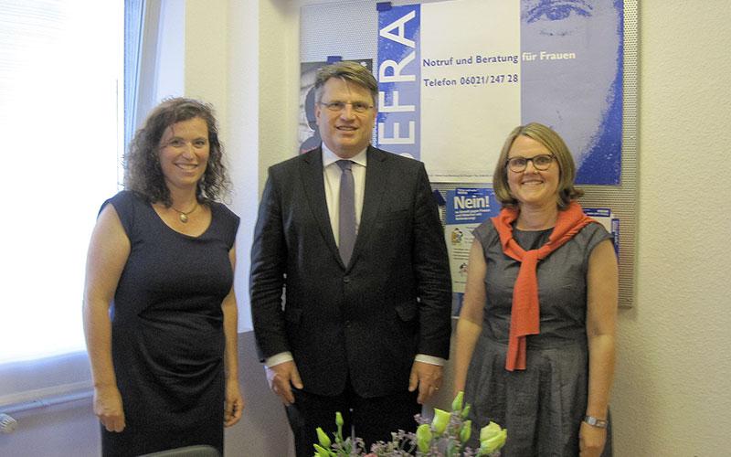 Arbeitsgespräch mit Herrn Prof. Dr. Winfried Bausback, Bayerischer Justizminister