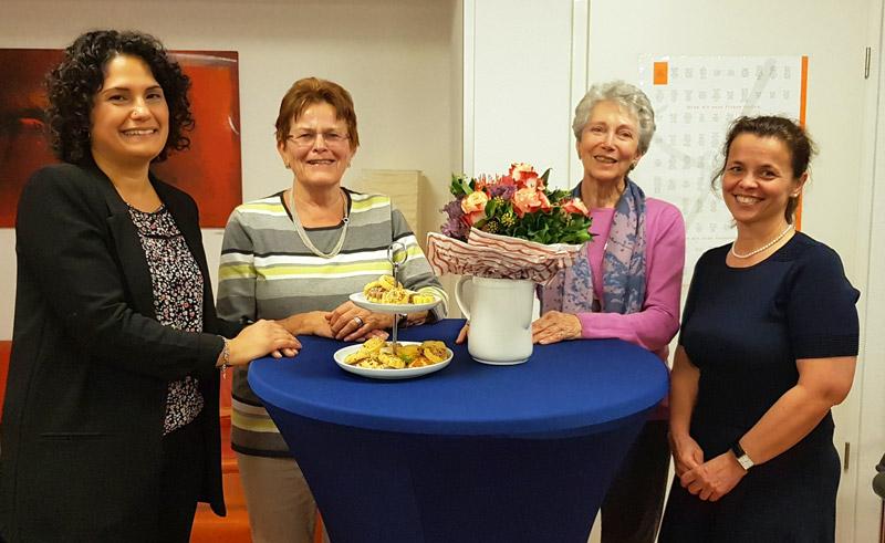 Ehrung von Mitgliedsfrauen bei SEFRA e.V.