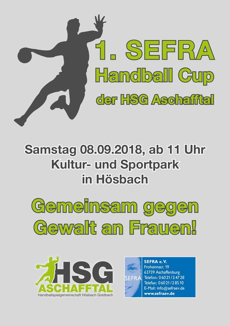 1. SEFRA Handball-Cup der HSG Aschafftal