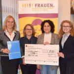 SEFRA e. V. freut sich über die Spende der Frauenunion Aschaffenburg Land
